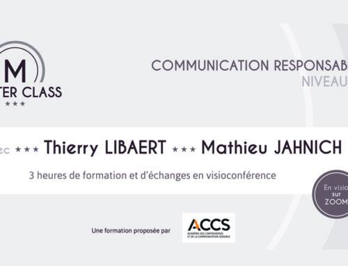 Protégé: Lancement de la Master Class Communication responsable